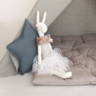 Florence The Cloth Bunny Doll