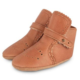 Benny Lining Booties - Leather Cognac