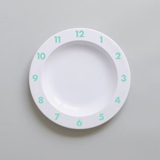 Dinner Time Plate - Mint
