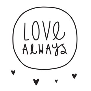 Wall Stickers - Love Always