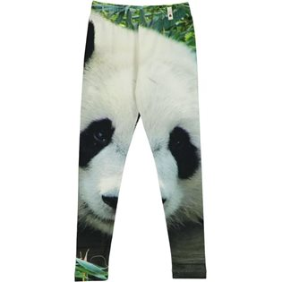 Leggings with Panda Print