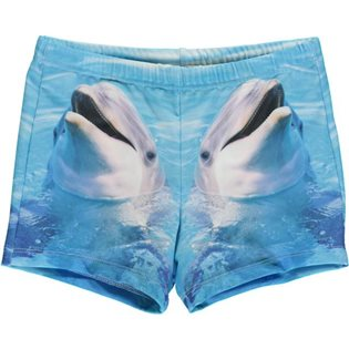 Swim Shorts UV - Dolphin Print