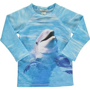 Swim Blouse UV - Dolphin Print