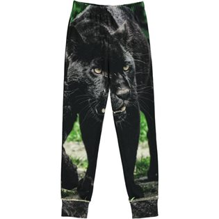 Play Leg Pants - Panther Print