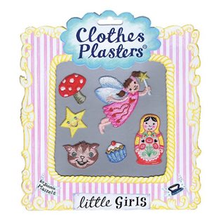 Clothes Plasters Set - Little Girls