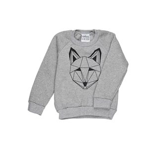 Just Call Me Fox Sweatshirt - Grey