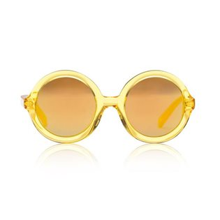 Lenny Sunglasses - Yellow Jelly Mirror