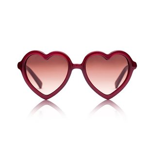Lola Sunglasses - Burgundy