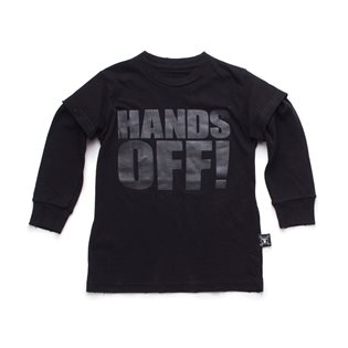Nununu Hands Off! T-Shirt - Black
