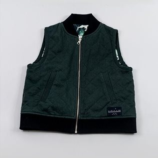 Forest 2-Way Quilted Vest