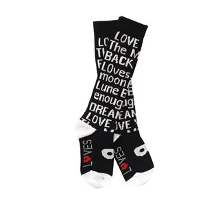 Staring At Stars Knee High Socks - Black