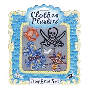 Deep Blue Sea - Clothes Plasters Set