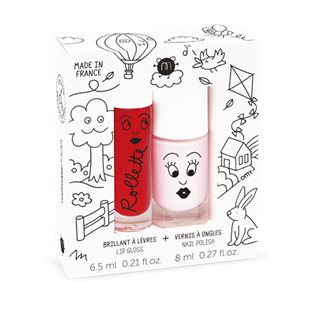 Nailmatic Duo Kids Cottage - Cherry/Bella