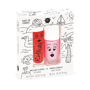 Nailmatic Duo Kids Holidays - Strawberry/Cookie