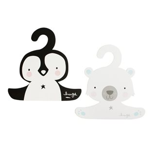 Hanger Set - Penguin & Polar Bear