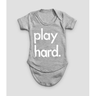 Play Hard Bodysuit - Grey