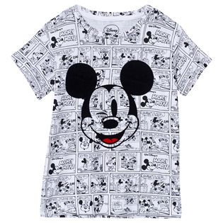 Mickel - Mickey Mouse White Tee