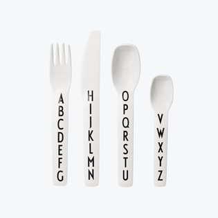 Melamine Kids Cutlery Set - AJ Vintage ABC