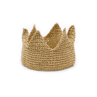 Billy loves Audrey Gold Knit Crown