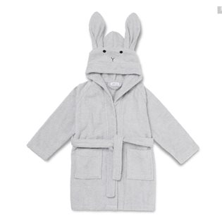 Lilly Bathrobe - Rabbit - Dumbo Grey
