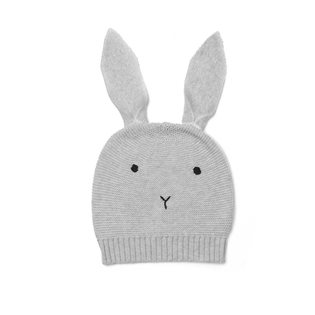 Viggo Knitted Hat - Rabbit - Dumbo Grey