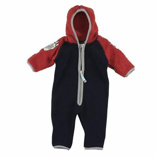 Molo Uny Teddy Fleece Suit - Black Iris