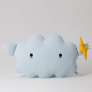 Ricestorm XL Cloud Cushion - Sky Blue