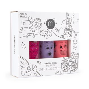 Nailmatic Kids Nail Polish - City 3 Nail polish