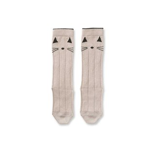 Sofia Knee Socks - Cat Sweet Rose
