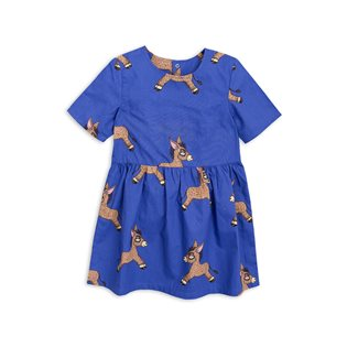 Donkey Woven Dress - Blue