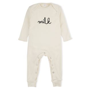 Milk Playsuit - Natural