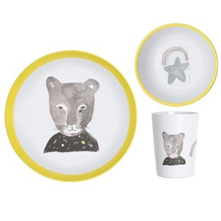 Lapin Panther Dinner Set
