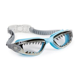 Jawsome Swimming Goggles - Baby Blue Tip Shark