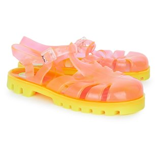 Orange Sherbert Jelly Shoes