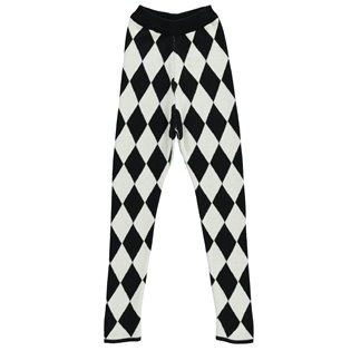 Beau Loves Knit Slim Pants - Harlequin