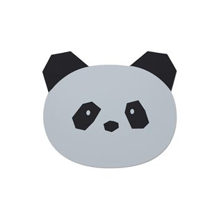Aura Placemat - Panda Dumbo Grey