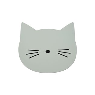 Aura Placemat - Cat Dusty Mint