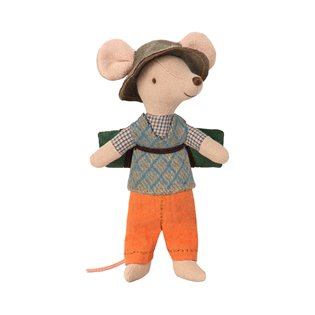 Maileg Mouse- Hiking Mouse Big Brother