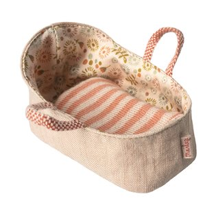Maileg Mouse Carrycot - My - Rose