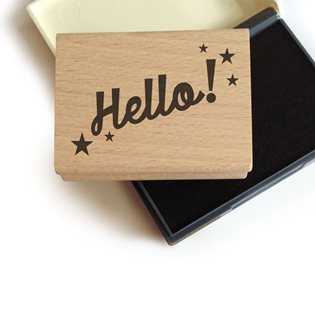 Hello - Stamp Set