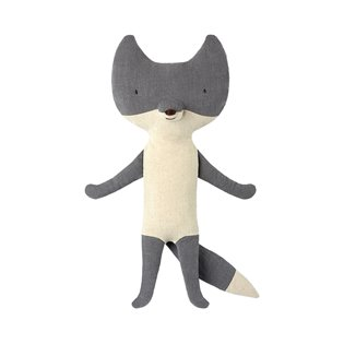 Large Silver Fox - Maileg Soft Toy