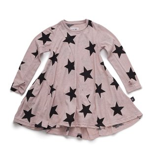 Nununu 360 Star Dress - Powder Pink