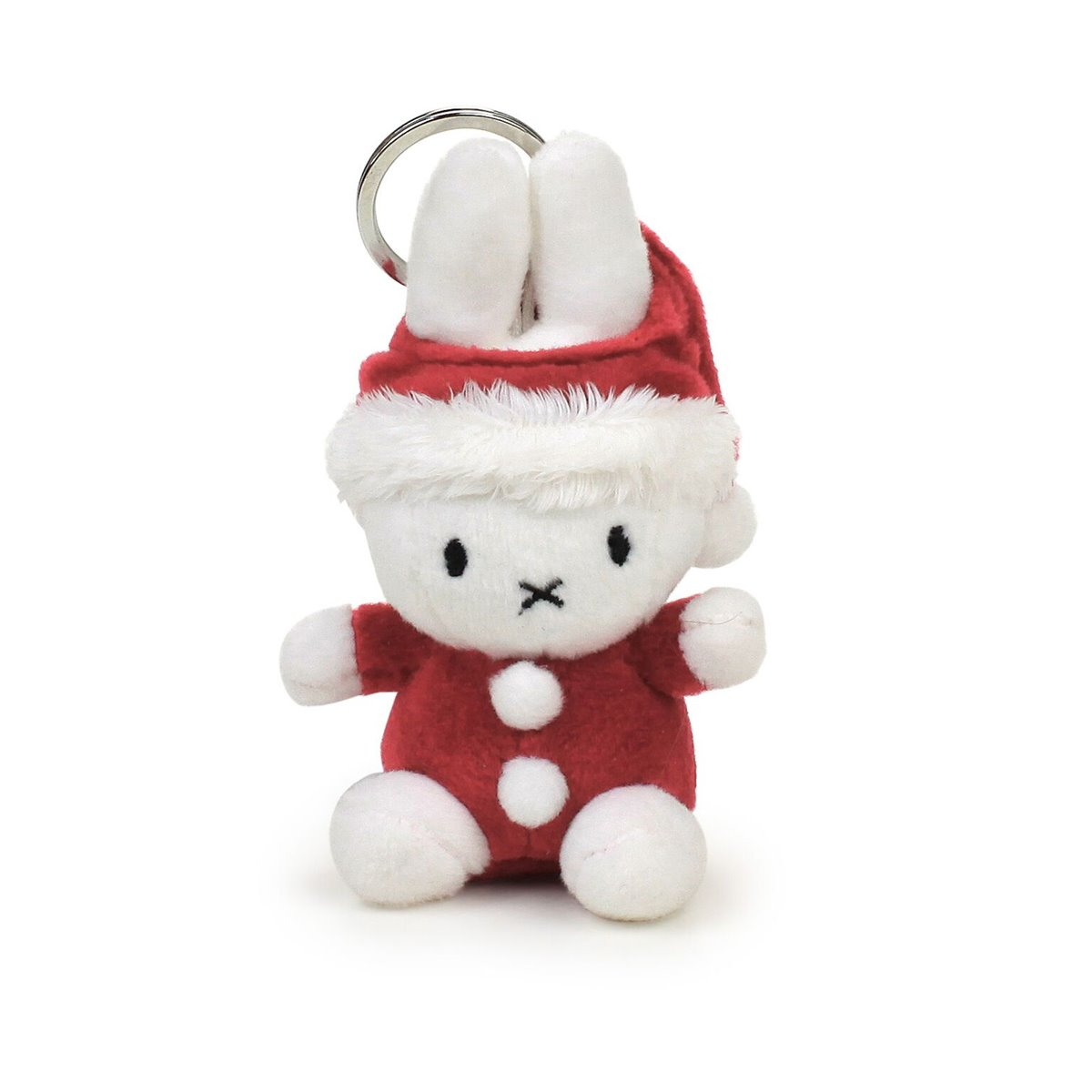 Monkeymccoy Miffy Santa Keyring Monkey Mccoy