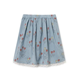 Poppy Prairie Flared Skirt