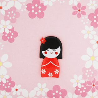 China Doll - Jelly Moulds Card