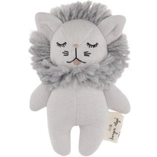 Mini Lion Soft Toy - Grey Melange
