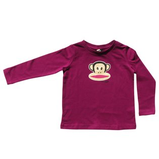 Paul Frank - Julius Long Sleeved T-Shirt - Plum