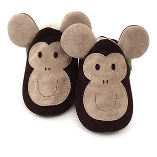 Monkey - Baby shoes