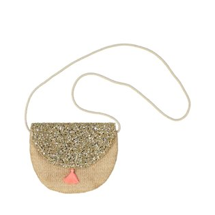 Half Moon Bag - Gold
