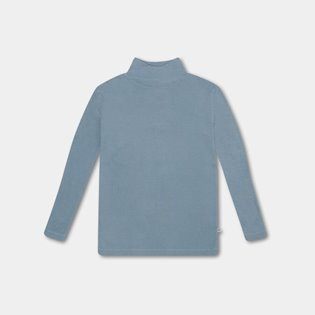 Turtle Neck - Steel Blue